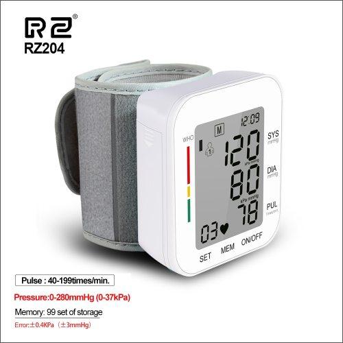 Digital Wrist Blood Pressure Monitor Pulse Rate Heart Beat Rate Meter Device Medical Equipment Tonometer BP Sphygmomanometer