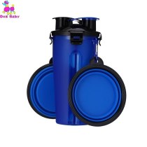 Dog Silicone Travel Bowl Pets With Two Water Cups Pet Chihuahua Folding Bowls Of Grain Storage Water Dish For Dogs Cat