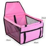 Waterproof Pet Dog Car Seat Cover Travel Dog Carrier Outdoor Safe Dog Car Seat Basket Cat Puppy Bag Travel Mesh Hanging Bags