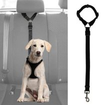 Practical Dog Cat Pet Safety Adjustable Car Seat Belt Harness Leash Travel Clip Strap Lead