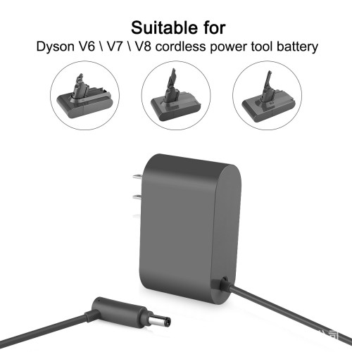 Charger For Dyson V6  V7  V8  DC58  DC59  DC61 DC62  DC74 SV05 SV06 SV07 SV08 SV0​9 Vacuum Cleaner Power Adapter Charger Replacements