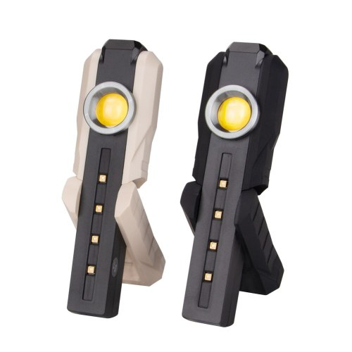 Handheld 4*UVC Light Sterilizer Lamp Built In Rechargeable Battery With XPE LED+COB LED Flashlight UVC Disinfection Light