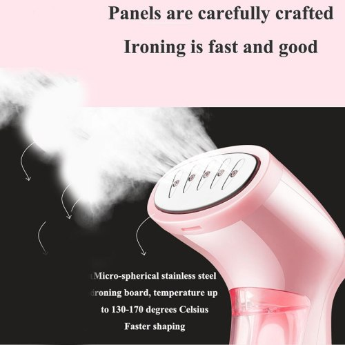 Handheld Clothes Steamer Super MIni Travel Garment Steamer for Clothes Brush steam appliance Portable Ironing Iron Steaming