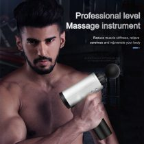 Muscle Massage Gun Relaxation Massager Vibration Gun Vibration Massage Fitness Equipment Noise Reduction Design Brushless Motor