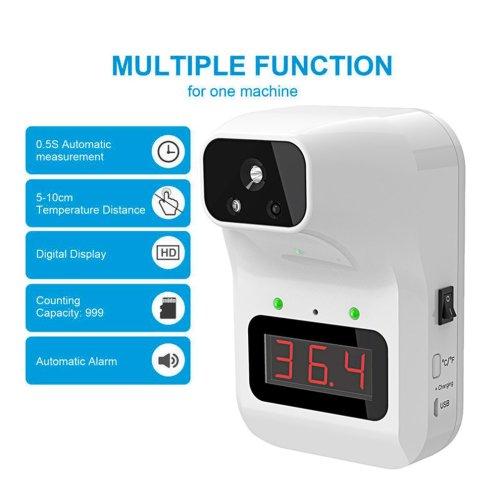 5 Types Non-Contact Infrared Temperature Measurement Body infrared Temperature Meter Home Office Wall Digital Temperature Tool