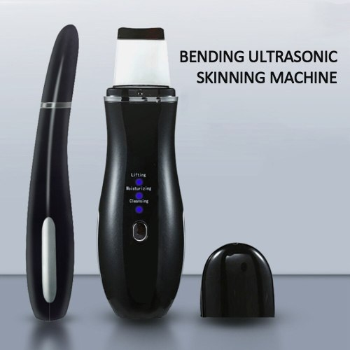 Ultrasonic Skin Scrubber Deep Face Cleaner Acne Blackhead Remover Reduce Wrinkles Spot Beauty Machine Facial Peeling Tool