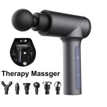 Mini Muscle Massage Gun 5 Gears Electric Vibration Body Tissue Massager Deep Relaxed Pain Relief Muscle Stimulator Theragun+Bag