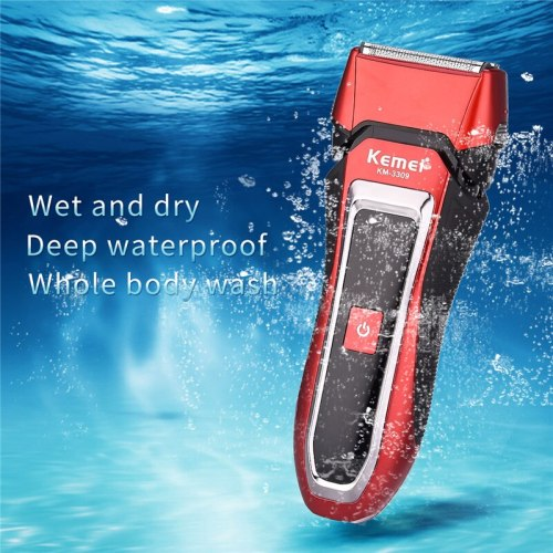 Kemei 3D Shaver Men Electric Shaver Electric Razor Rechargeable Shaving Machine Razor Waterproof Beard Shaver Barbeador Face