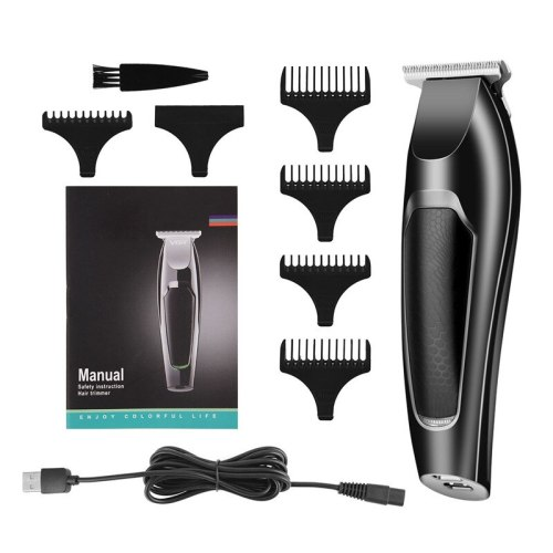 USB Electric Hair Clipper beard trimmer electric hair cutting machine haircut barber Hair Remover Trimmer with Limit Combs