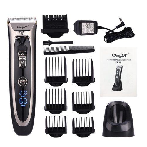100-240V Professional Hair Trimmer Electric Hair Clipper Trimmer Shaving Machine Hair Cutter Shaver Men Clipper Cutting Machine