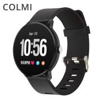 Fitness Activity tracker IP67 waterproof Smart watch Tempered glass Heart rate monitor Men women Clock smartwatch