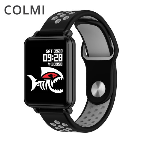 LAND 1 Smart watch Laminated display Full touch Fitness tracker Push message IP68 waterproof For iphone and Android phone