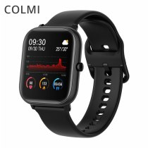 P8 SE Smart Watch Men IP67 Waterproof Full Touch Fitness Tracker Heart Rate Monitor Women Clock GTS Smartwatch
