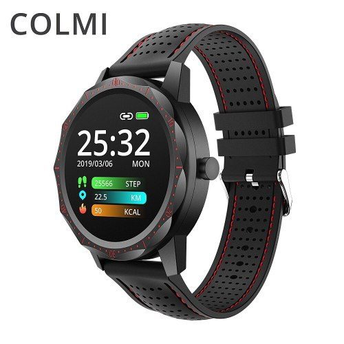SKY1 Sports Smartwatch Heart Rate IP68 Waterproof Step Tracker Remote Music Fitness Tracker Watch Men For IOS & Android