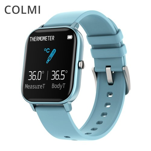 P8 Pro Smart Watch Temperature IP67 Waterproof Full Touch Fitness Tracker Heart Rate Monitor Women Men Smartwatch