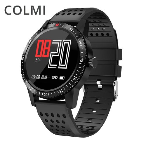 Smartwatch IP67 Waterproof Wearable Device Heart Rate Monitor Color Display Smart Watch For Android IOS