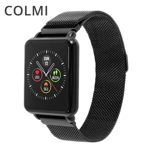 Land 1 Full touch screen Smart watch IP68 waterproof Bluetooth Sport fitness tracker Men Smartwatch For IOS Android Phone