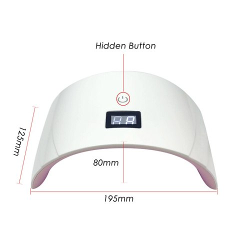 36W LED/UV Lamp For Manicure LED Nail Dryer Lampe UV US/UK/EU Plug Drying All Gels Nail Polish Nail Art Tools