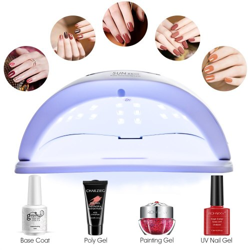 UV LED Nail Lamp Manicure 80W Nail Dryer For All Nail Gel Polish Ice Lamp With LCD Display For Professional Nail Art Tool