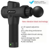 2020 percussion massage gun 20 speed training relaxation body massager
