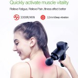 Muscle Massage Gun Deep Tissue Massager Therapy Gun Exercising Muscle Pain Relief Body Relaxation Slimming Shaping With 6 Heads