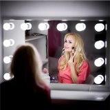 Makeup Mirror Vanity LED Light Bulbs Kit USB Charging Port Cosmetic Lighted Make up Mirrors Bulb Adjustable Brightness lights