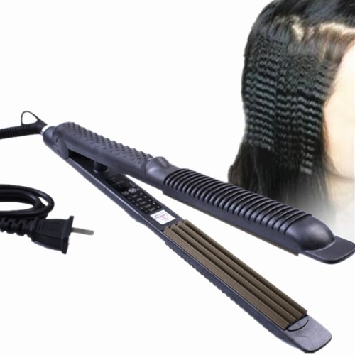 Hair Curler Curling Irons Corn Perm Splint Tourmaline Ceramic Corrugation Wave Tongs For Hair Styling Tools Styler