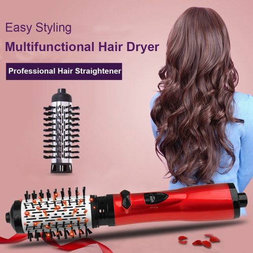 Hair Dryer Comb Rotating Hot Air Brush Professional Blow Dryer Hairdryer Multifunctional Hair Straightener Comb Curling Brush