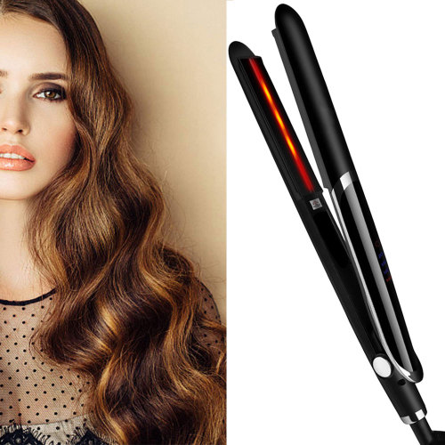 Infrared Hair Straightener Flat Iron Hair Straightening Ceramic Hair Curler Professional Curling Iron Wand Hair Crimper Iron
