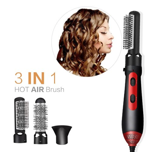 Hair Dryer Brush Blowdryer 3 in 1 Hot Air Brush Professional Blow Dryer Hair Straightening Brush One Step Hair Dryer Volumizer