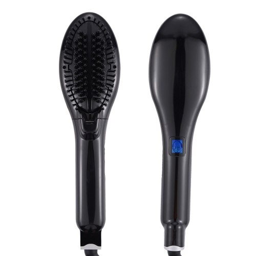 Steam Hair Straightener Brush Ceramic Flat Iron Hair Straightening Comb Electric Hair Brush Hair Iron Steampod Styling Tools