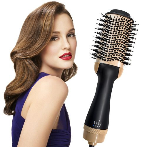 Hairdryer Brush One Step Hair Dryer Volumizer Styler Rotating Hot Air Brush Blow Dryer with Comb Multifunctional Hair Dryer