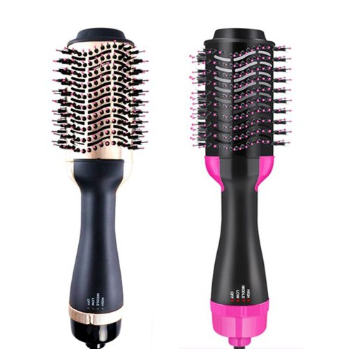 Blow Dryer Professional One Step Hair Dryer Brush Rotating Hot Air Brush Hot Comb Straightener Hair Styling Tools Hairdryer