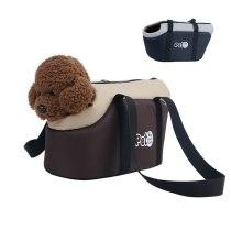 Breathable Pet Bag Outdoor Travel Puppy Dog Cat Bag Dog Carrier Bags Shoulder Pets Backpack Handbag Foldable Soft Dog Bag Carry