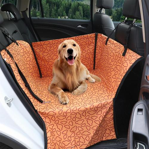 Pet Carrier For Dogs Waterproof Rear Back Carrying Dog Car Seat Cover Hammock Mats Transportin Perro coche autostoel hond