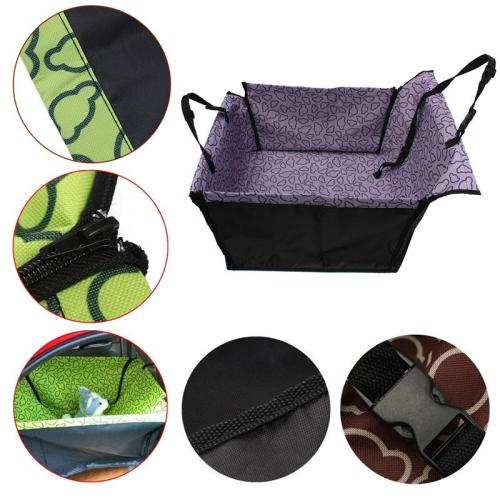Pet Dog Car Seat Cover Waterproof Rear Back Dog Car Seat Protection Safe Dog Accessories For Car Seat Back Protector Pet Hammock