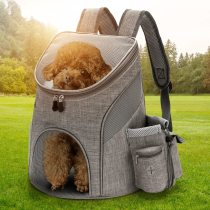 Outdoor Pet Carrying Bag Cat Dog Backpack Folding Pet Chest Bag pet Supplies Dog Cat Carrier Backpack for Small Dog Cat