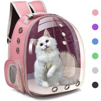 Cat Carrier Bags Breathable Pet Carriers Dog Cat Backpack Travel Space Capsule Cage Pet Transport Bag Carrying For Cats