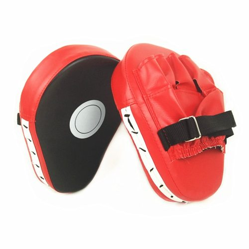 Boxing Target PU Leather Curved Pads for Muay Thai Karate Fight Wushu Sanda Bag MMA Training Focus Punching Mitts Taekwondo Pad
