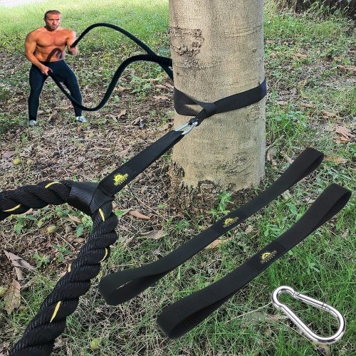 Battle Rope Fitness Anchor Strap Kit Accessoires Sport for Rope Easy Setup Home Gym Outdoor Muscle Workout Equipment
