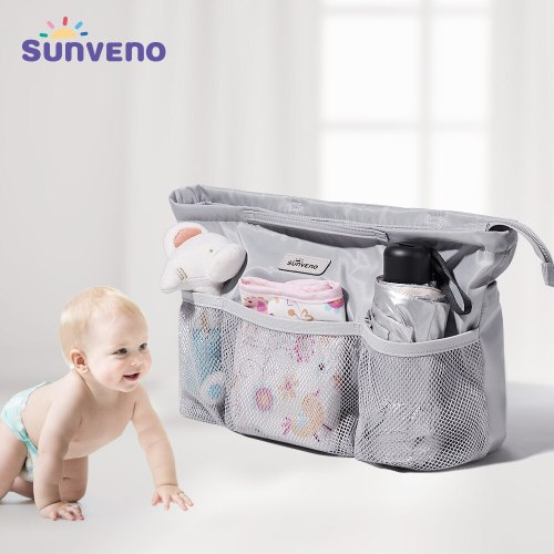 Diaper Bag Insert Baby Bag Organizer Nappy Bag Inner Container for Mom with Insulation Waterproof Pockets Baby Gear