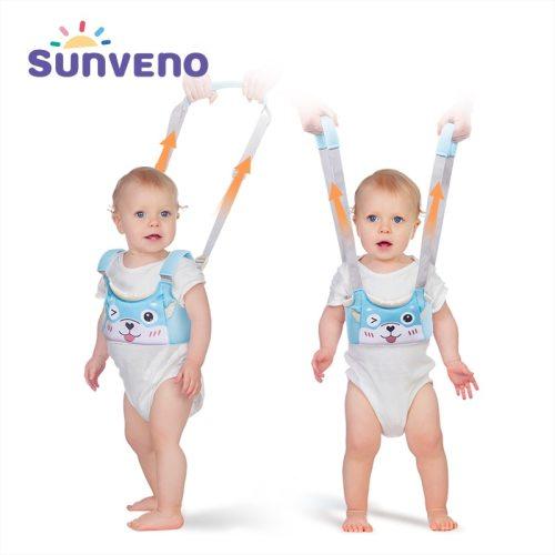 New Baby Walker Toddler Wings Walker Cartoon Pig Safety Walking Belt Baby Harnesses Leashes Baby Walk Assistant Belt