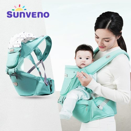 Baby Carrier Front Facing Hipseat Kangaroo Ergonomic Baby Sling Carriers for Newborn Toddler Kids Loading Bear 20Kg