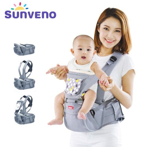 New Design Infant Toddler Ergonomic Baby Carrier with Hipseat For Baby Infant Toddler Kids 0-36M