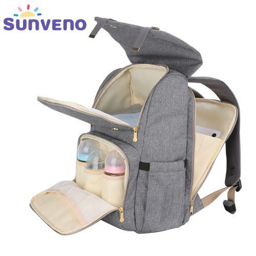 Fashion Diaper Bag Mommy Maternity Nappy Bag Large Capacity Travel Backpack Nursing Bag for Baby Care