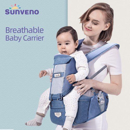 0-36 Months Ergonomic Baby Carrier Infant Baby Hipseat Carrier Front Facing Ergonomic Kangaroo Baby