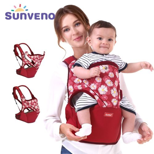 Cotton Baby Carrier Front Facing Ergonomic  Baby Wrap Infant Hipseat Sling for Newborn Safety Brand Clearan