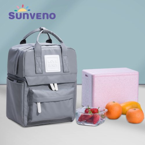 Insulation Bag Milk Food Storage Thermal Bag Warmer Box Baby Feeding Bottle Thermal Backpack for Food Lunch Box