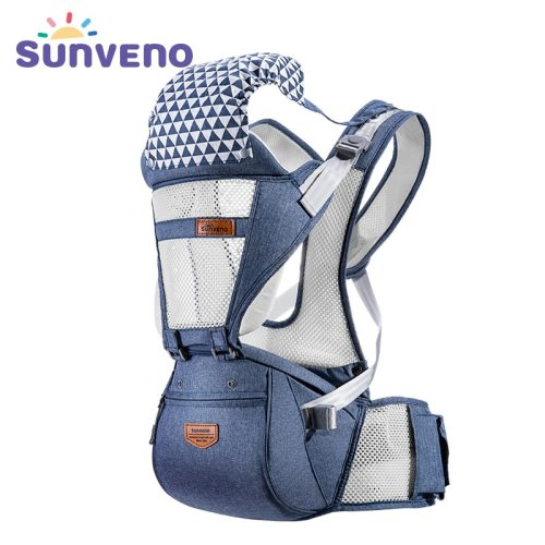 Breathable Baby Carrier Ergonomic Front Facing Baby Carrier Comfortable Sling for Newborns