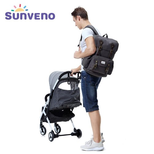 Diaper Bag Multi-Function Daddy Travel Backpack Nappy Bags for Baby Care, Large Capacity, Stylish and Durable